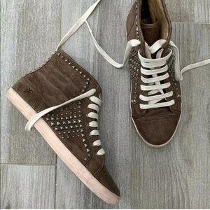 FRYE Kira Studded Sneakers Sz 7.5